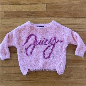 Soft fuzzy yarn sweater